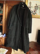 manteau cuir  ALBERTA FERRETTI MADE IN iTALY Ledermantel 42 <> 44 Leather Coat