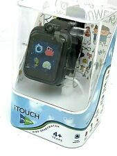 itouch Play Zoom Kids Smartwatch Games Camera Interactive Black Rubber Band