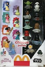McDonald'S 2021 Disney Princess & Star Wars Happy Meal Toys! Pick Your Toys!