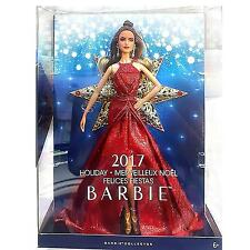 Barbie 2017 Holiday Teresa Brunette with Silver Dress Doll