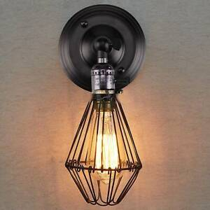E27 Vintage Industrial Retro Wall Lights Fittings Indoor Sconce iron Metal Lamp