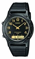 Casio Men's Collection Analogue/Digital Quartz Watch with Resin Strap AW-49H-1BV