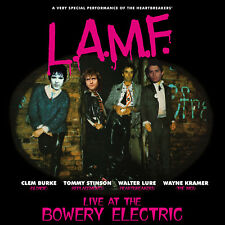 LURE BURKE STINSON & KRAMER L.A.M.F. Live at the Bowery ltd coloured LP Thunders