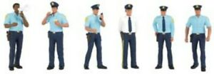 NEW Bachmann Police Squad 6 O Train Figures 33154 FREE US SHIP