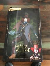 Barbie Disney Alice In Wonderland The Mad Hatter Johnny Depp Ken Doll 2009