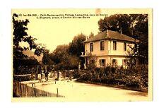 CPA 73 Savoie Aix-les-Bains Café-Restaurant du Cottage Lamartine Jeux de Boules