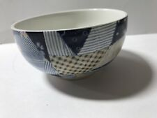 Ralph Lauren Wedgwood PATCHWORK Pattern Open Sugar Bowl Superb Condition