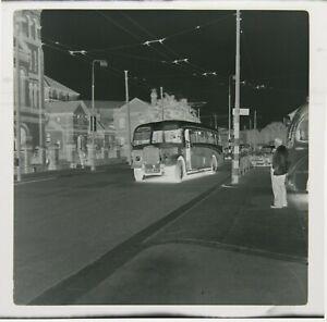 Crimpy Potato Crisps Bus / Coach CAG 444 May Be Bournemouth 1950s B&W Negative