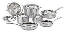 Cuisinart MCP-12N Multiclad Pro Stainless Steel 12-Piece Cookware Set 12 Piece