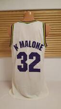 Utah Jazz Trikot NBA Karl Malone Champion Jersey Shirt Maglia Camiseta L 46