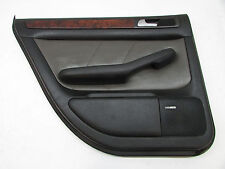 2001 AUDI ALLROAD DOOR PANEL REAR LEFT BLACK LEATHER OEM 01 02 03 04 05