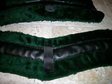 Hunter Green Harness Pads, These Are The Really Good Kind, Amish Made, Nice!