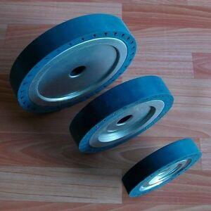 150*30*25mm High Speed Centrifugal Drum Rubber Polishing Wheel for Sanding Mach