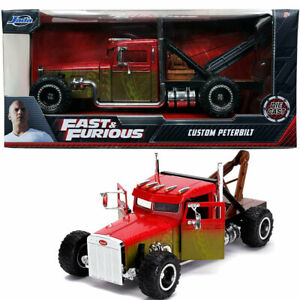 Hobb's & Shaw Custom Peterbilt truck from Fast & Furious series 1:24 JADA 32089