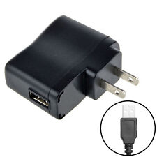 AC 110V-240V to DC 5V 500mA USB to 2 Pin US Plug Power Adapter Charger Xmas .x