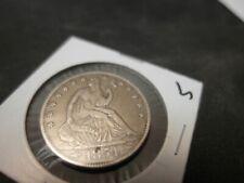 1854 O  Seated Liberty Half Dollar Uncirc See Pics!