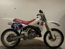 YAMAHA YZ125 1991 2 STROKE SUPER EVO MOTOCROSS BIKE*RUNS & RIDES RESTORATION*