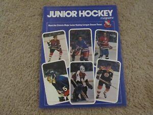 5 Junior Hockey Magazines 1970's / 80's