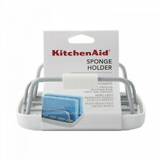 KitchenAid kitchen sponge holder in white