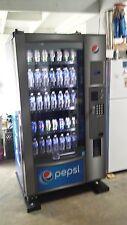 Pepsi Glass Front Soda Machine,Royal Vendors Rvv500, Coinco Mech & Bill Acceptor
