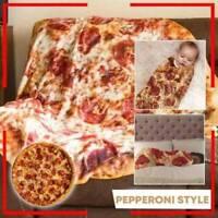 Weiche Komfort-Nahrungsmittelschaffungs-Pizza-Verpackungs-Decke tadellos rund