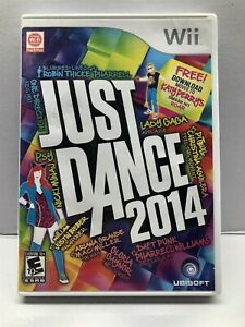 Just Dance 2014 - Nintendo Wii - Complete w/ Manual - Tested - Free Ship