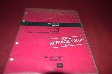 John Deere 165 Backhoe For 170 Skid Steer Operator's Manual YABE8