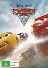 CARS 3 DVD, 2017 RELEASE, NEW & SEALED, REGION 4, FREE POST