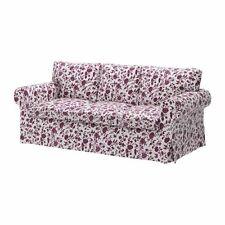 <  New Original IKEA Cover Ektorp 3-seat sofa Hovby Lilac 100% COTTON
