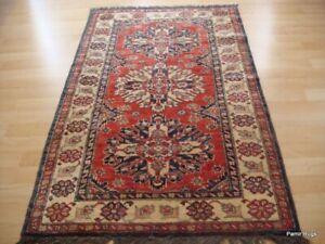 3' X 5' TOP QUALITY CAUCASIAN KAZAK Beautiful kazak rug handmade