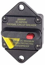 Blue Sea 7086 Cooper Bussmann 80 Amp Circuit Breaker Panel Mount Anchor Winch