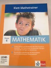 Klett Mathetrainer 6. Klasse, CD zum lernen, Realschule Baden Württemberg