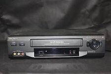 Sony SLV-N50 VHS VCR Player Recorder 19 Micro Head HiFi