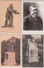 Jeane Jaures War Patriote Politic 14 Postcards mostly pre-1940