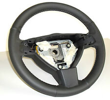 OPEL Zafira B Steering wheel cover specific genuine leather anthracite