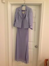 Jeanne Alexander - Two piece set sleeveless long womans dress & sequined jacket