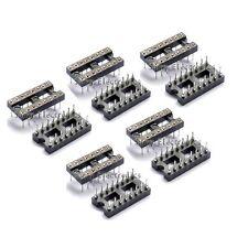 10pcs Round Hole 16pin Pitch 254mm Dip Ic Sockets Adaptor