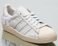 adidas Originals Superstar 80s Men Lifestyle Shoes Crystal White Sneakers B37995