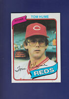 Tom Hume 1980 TOPPS Baseball #149 (NM) Cincinnati Reds