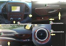 Décor Cockpit intérieur 18 Pièces Loupe de Bois pour Mercedes Vito w447 2014>