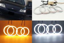 Cotton LED Halo Ring For Hyundai tiburon 03-06 i30 08-11 Sonata 02-05 Angel Eyes