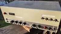 Vintage Carl Strasser tube mic line and guitar power amplifier very good WORK