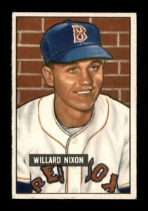 1951 Bowman Set Break # 270 Willard Nixon EX-MINT *OBGcards*