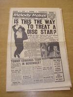 MELODY MAKER 1958 NOVEMBER 1 DICKIE VALENTINE DUKE ELLINGTON PAT BOONE LEWIS +