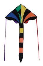 In the Breeze 46 Inch Rainbow Sparkler Fly Hi Delta Kite Ripstop