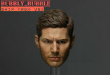 1/6 Jensen Ackles Dean Winchester Head For Supernatural Hot Toys PHICEN USA