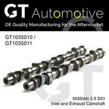 NISSAN INLET & EXHAUST CAMSHAFTS 2.5 DCI YD25DDTi 13020AD202 & 13020AD212