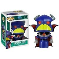 RARE VAULTED Emperor Zurg Toy Story Funko Pop Vinyl New in Mint Box + Protector