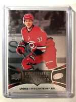2018-19 Exquisite Collection Hockey Platinum Rookies Andrei Svechnikov /199