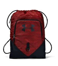 Under Armour Undeniable Sackpack Gym Bag Black/Red, One Size, Unisex